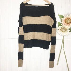 Brandy Melville | Slouchy Stripes Sweater